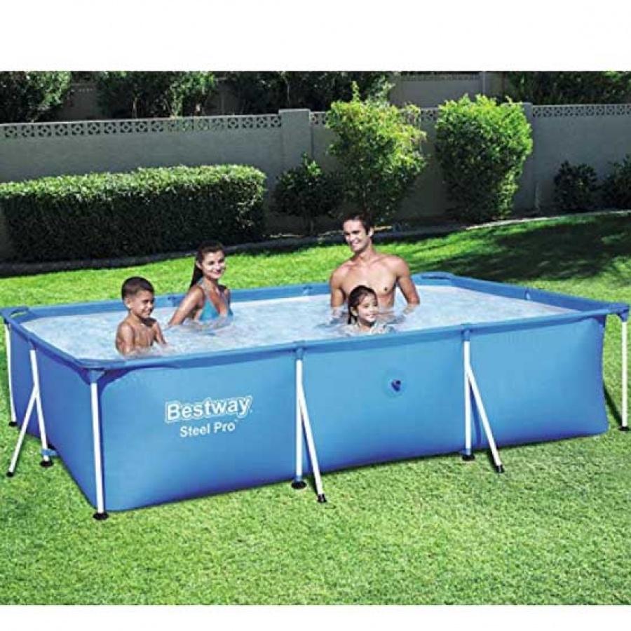 Bestway piscina steel pro rettangolare 56404 - dettaglio 2