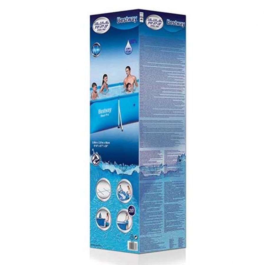 Bestway piscina steel pro rettangolare 56404 - dettaglio 3