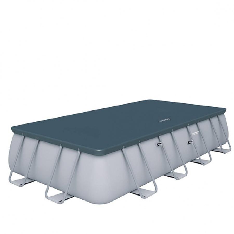 Bestway set piscina power steel rettangolare con filtro 56466 - dettaglio 3