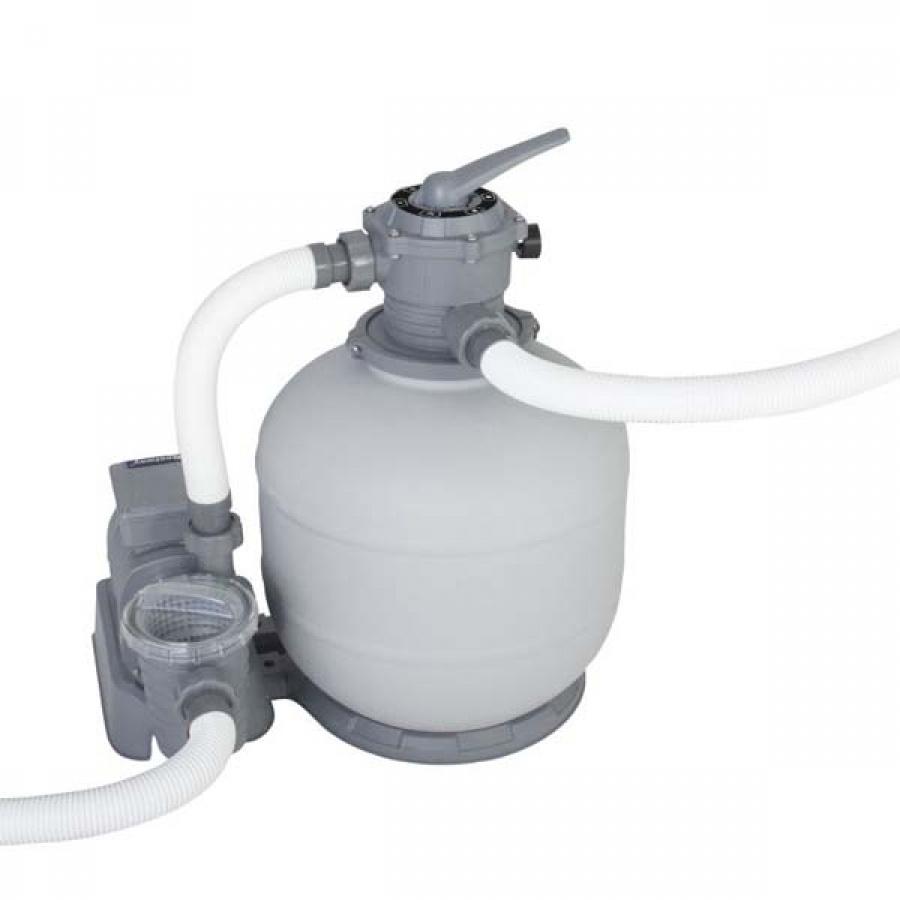 Bestway set piscina power steel rettangolare con filtro 56623 - dettaglio 3