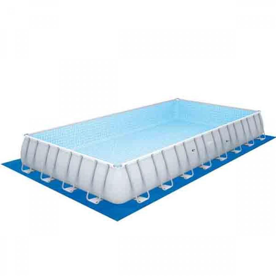 Bestway set piscina power steel rettangolare con filtro 56623 - dettaglio 5