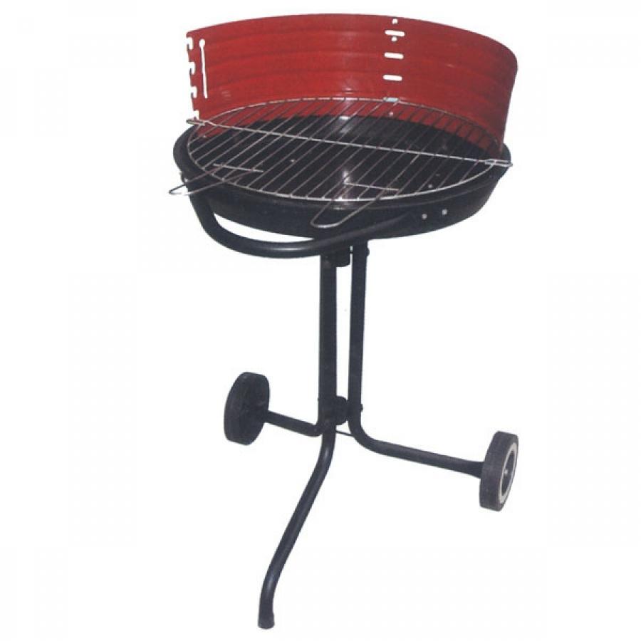 Lapillo barbecue tondo con ruote 11782bl - dettaglio 1