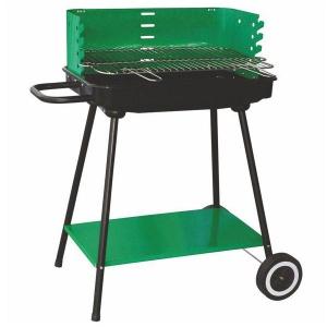 Lapillo barbecue rettangolare con base in metallo 11773pw - dettaglio 1