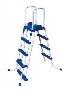 Bestway scaletta di sicurezza per piscina flowclear h 122cm 58331 - dettaglio 1