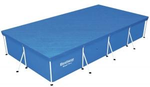 Bestway copertura flowclear per piscina con struttura metallica 400 x 211 cm 58107 - dettaglio 1