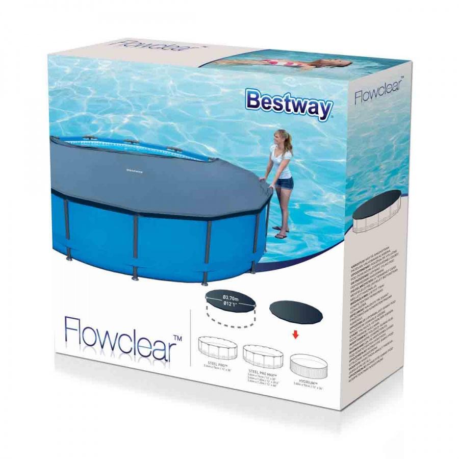 Bestway copertura flowclear per piscina con struttura metallica 366 cm 58037 - dettaglio 2
