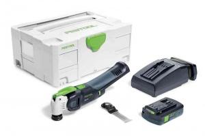 Utensile multifunzione a batteria festool 575385 osc 18 li 3,1 e-compact - dettaglio 1