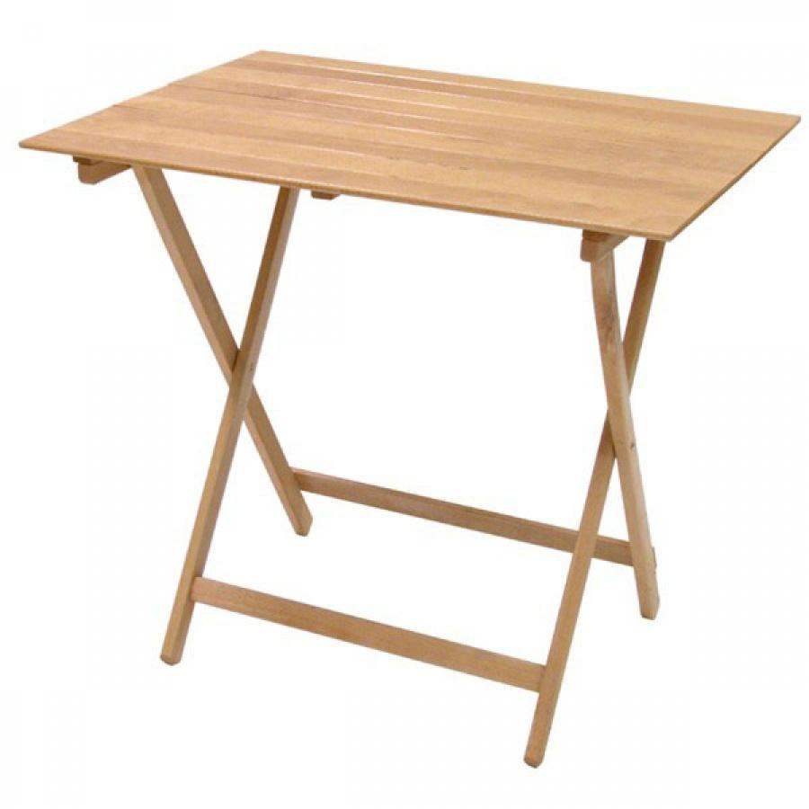 Frasm tavolo rettangolare pieghevole in legno f2005 - dettaglio 1