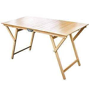 Frasm tavolo rettangolare pieghevole in legno f2007 - dettaglio 1