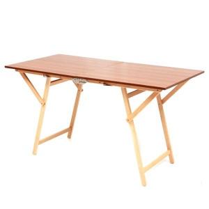 Frasm tavolo rettangolare pieghevole in legno f2008 - dettaglio 1