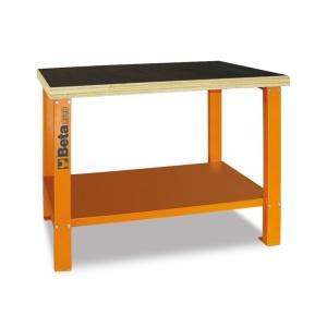 Banco da lavoro con piano in legno beta c58b 058000401 - dettaglio 1