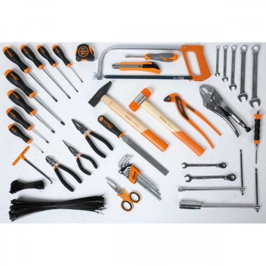 Beta 5941KART Assortimento 41 utensili e 200 collari per autoriparazione