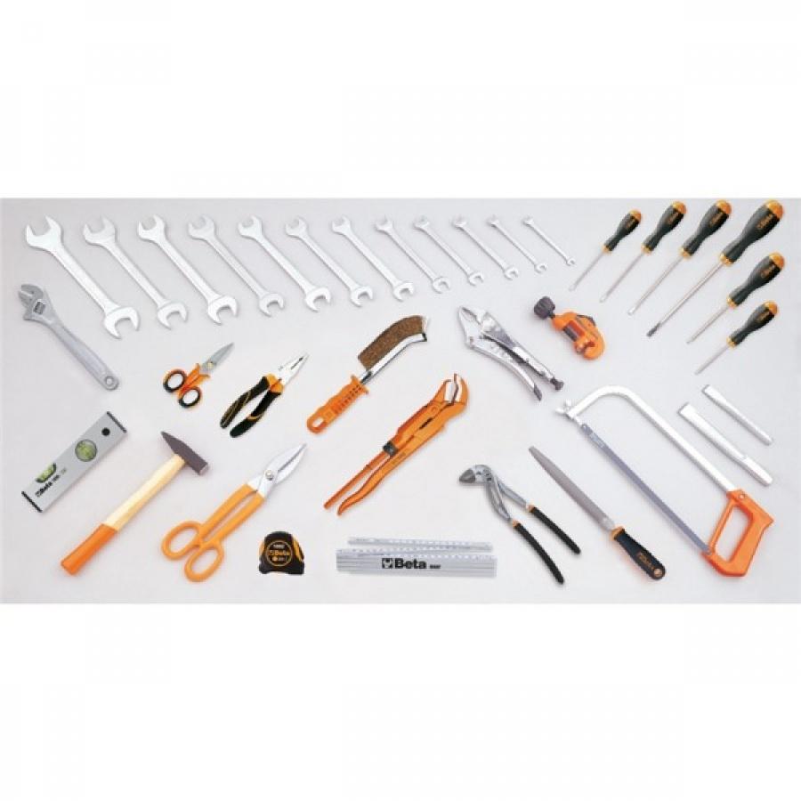 Assortimento 35 utensili per idraulica beta 5980id 059800085 - dettaglio 1