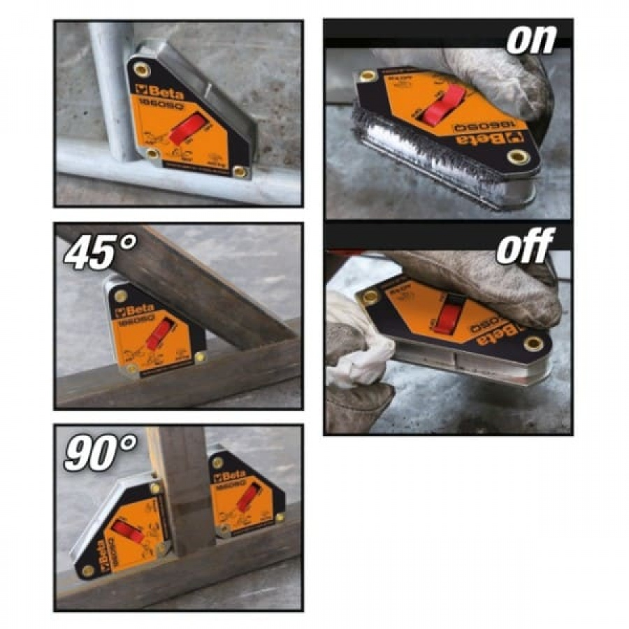 Squadra magnetica beta 1860sq 018600210 - dettaglio 2