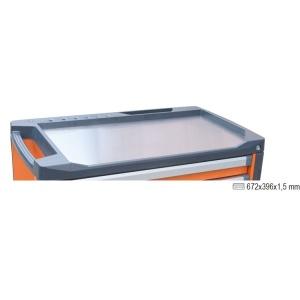 Piano di lavoro in acciaio per cassettiera c37 beta 3700/pla 037000100 - dettaglio 1