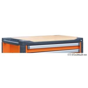 Piano di lavoro in legno per cassettiera c37 beta 3700/pll 037000101 - dettaglio 1