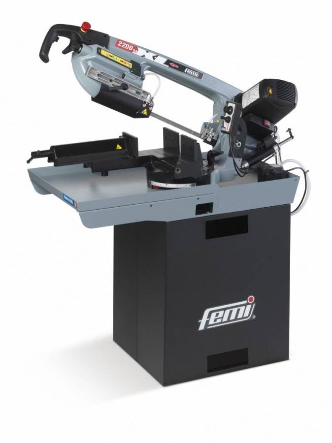 Femi 2200 DAXL Segatrice a nastro con basamento con discesa automatica - dettaglio 1