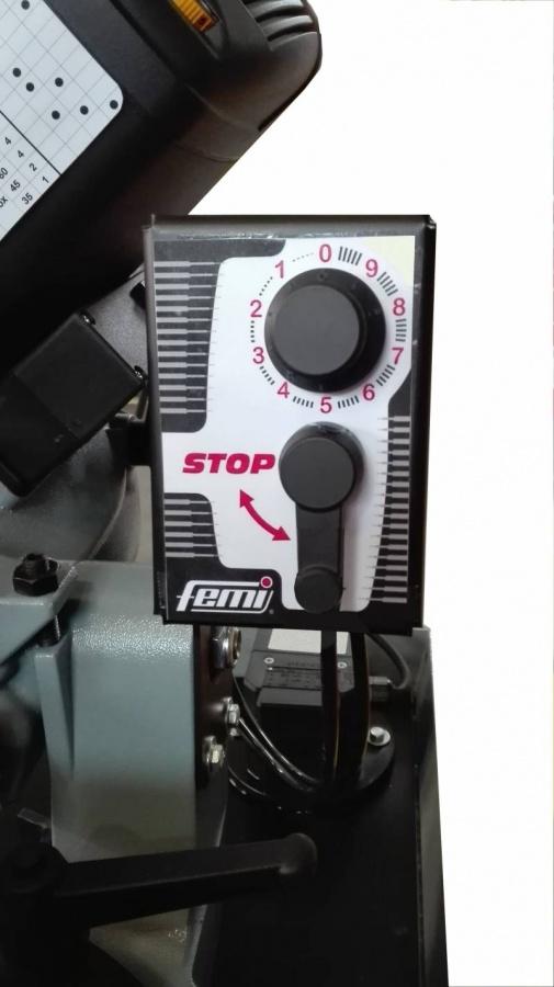 Femi 2200 DAXL Segatrice a nastro con basamento con discesa automatica - dettaglio 3