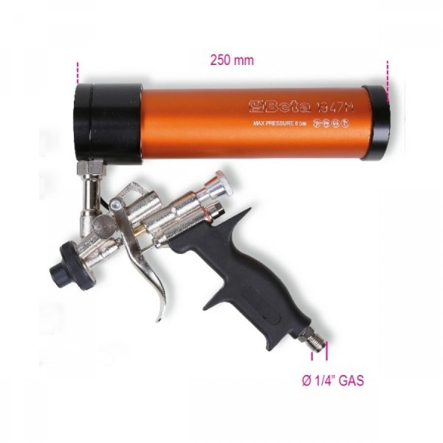 Pistola per ingrassaggio pneumatica ad aria Beta 1947G