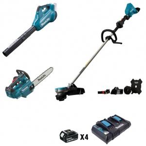 Makita DU36VSET2X3 Kit Elettroutensili Brushless Zero emission 36v - DU36VSET2X3