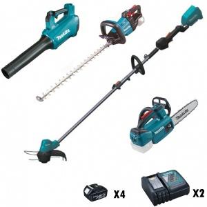 Makita DU18VSET1X4 Kit Elettroutensili Brushless Zero emission 18V - Dettaglio 1