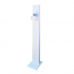 Metalpoint Piantana in acciaio di supporto per gel disinfettante - dettaglio 1