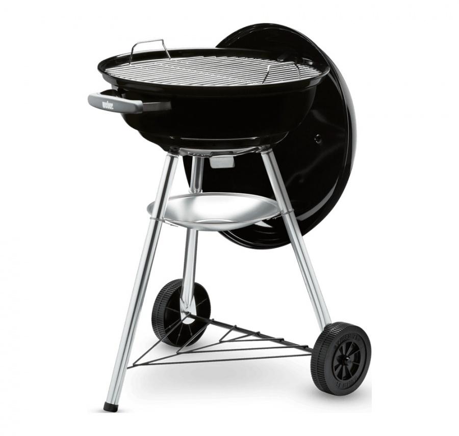 Compact kettle barbecue a carbone 47 cm weber 1221004 - dettaglio 1