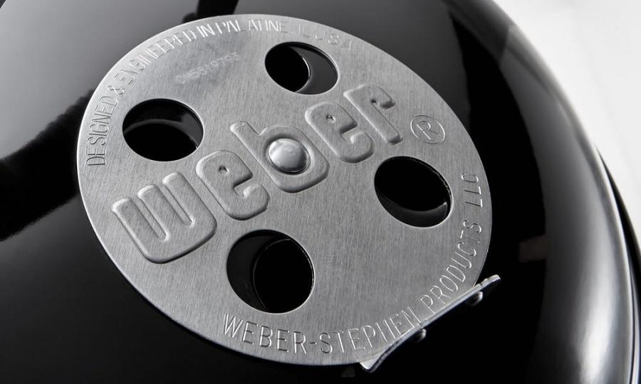 Compact kettle barbecue a carbone 47 cm weber 1221004 - dettaglio 9