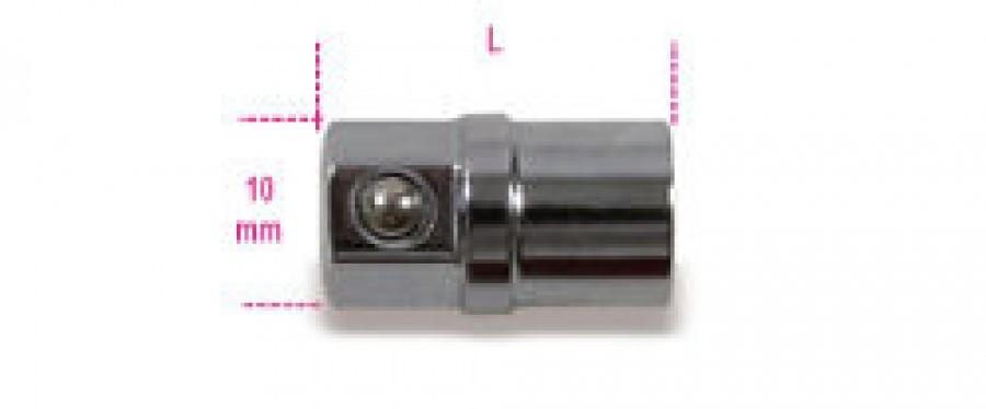 """Adattatore portainserti 1/4"""" per chiavi a cricchetto Beta 123E1/4 mm 10"""