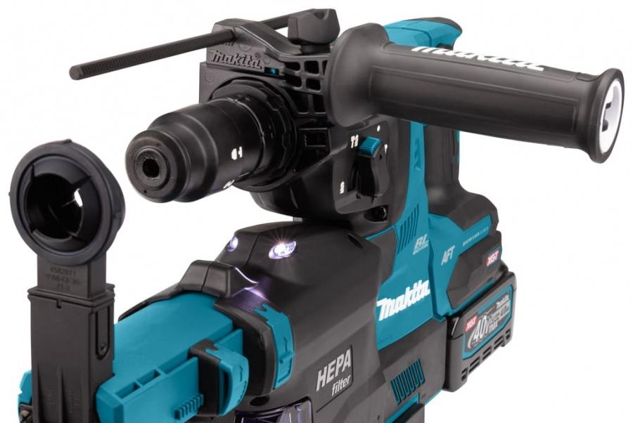 Tassellatore a batteria brushless aft 40v makita hr002gm204 - dettaglio 3