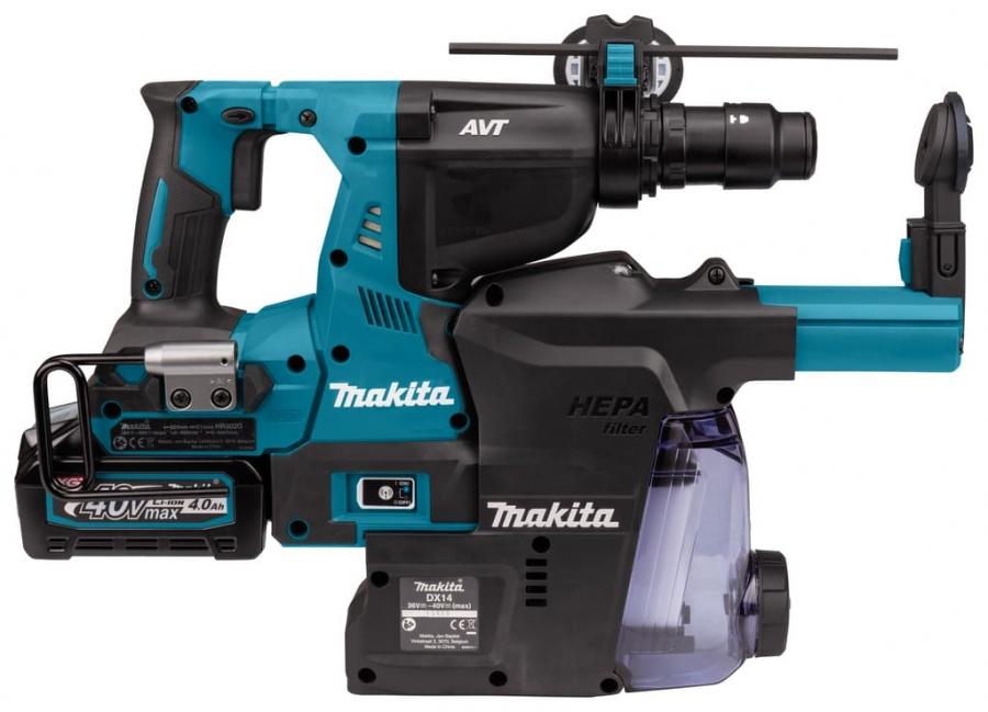 Tassellatore a batteria brushless aft 40v makita hr002gm204 - dettaglio 7