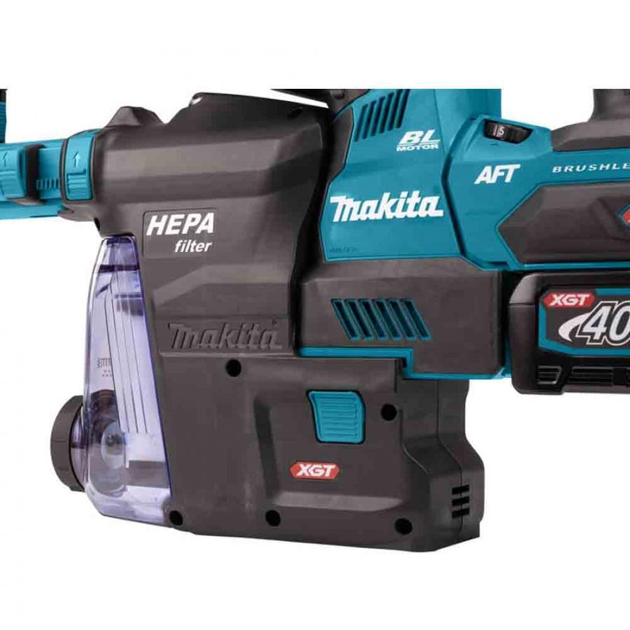 Tassellatore a batteria brushless aft 40v makita hr002gm204 - dettaglio 8