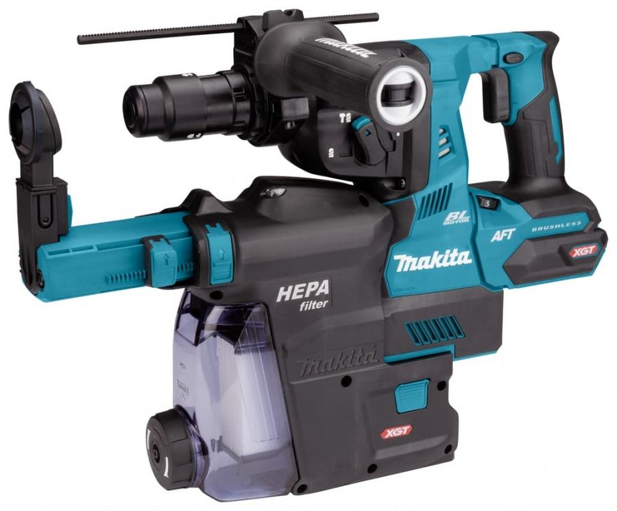 Tassellatore brushless aws 40v senza batterie makita hr002gz05 - dettaglio 2
