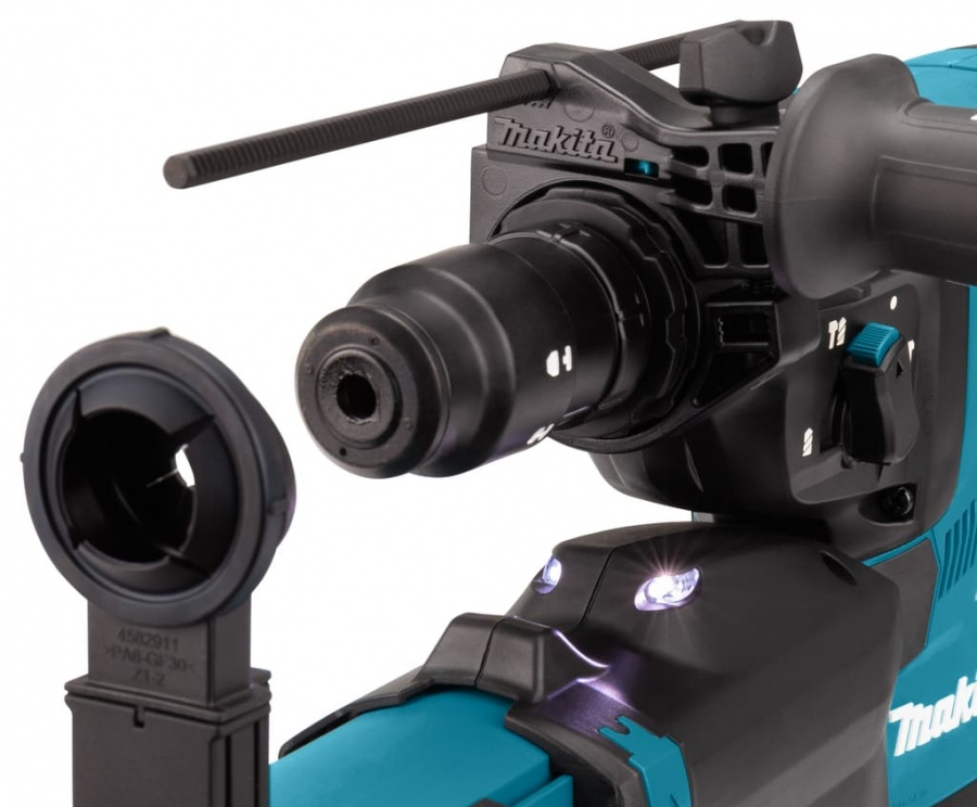 Tassellatore brushless aws 40v senza batterie makita hr002gz05 - dettaglio 4