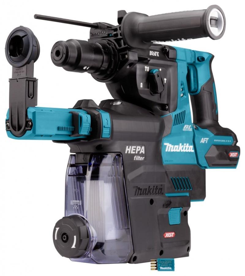 Tassellatore brushless aws 40v senza batterie makita hr002gz05 - dettaglio 7
