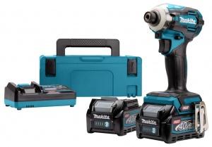 Avvitatore ad impulsi brushless a batteria 40v makita td001gm201 - dettaglio 1