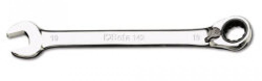 Chiave Combinata a Cricchetto reversibile Beta 142 mm. 14x14