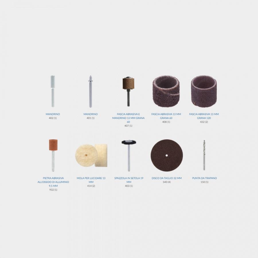 Dremel 8100jc utensile multifunzione cordless - dettaglio 3