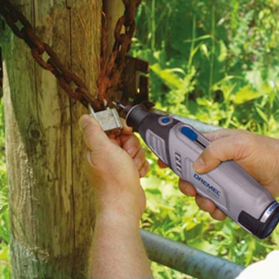 Dremel 8100ky utensile multifunzione outdoor campaign - dettaglio 2