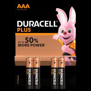 Duracell Batterie Alcaline Plus AAA - dettaglio 1
