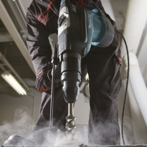 Utilizzo Martello Demolitore Rotativo Makita HR5211C 1500W mm. 52