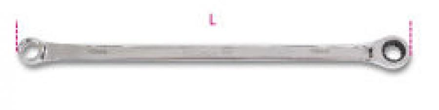 Chiave Poligonale Diritta e a Cricchetto per pulegge libere alternatori Beta 188 mm. 15