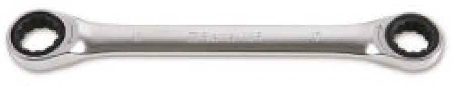 Chiave Poligonale doppia diritta a Cricchetto Beta 195 mm. 8x10
