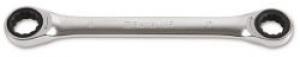 Chiave Poligonale doppia diritta a Cricchetto Beta 195 mm. 17X19