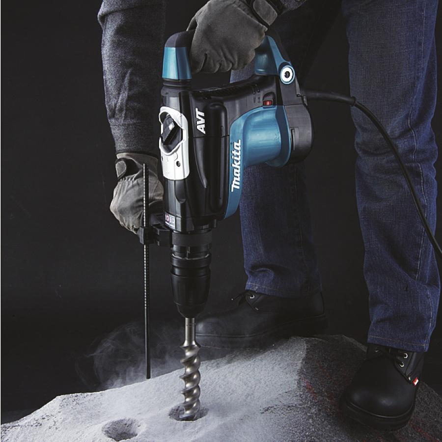 Utilizzo Martello Demolitore Rotativo 1100W Makita HR4011C mm. 40