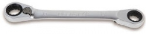 Chiave Poligonale doppia piegata a 15° a Cricchetto Beta 195P mm. 8x10