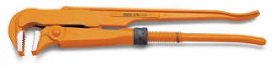 Giratubi modello svedese ganasce piane a 90° Beta 376 mm. 410