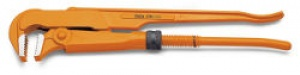 Giratubi modello svedese ganasce piane a 90° Beta 376 mm. 550