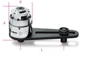 Moltiplicatore di coppia rapporto 25:1 con dispositivo antiritorno Beta 565/1R