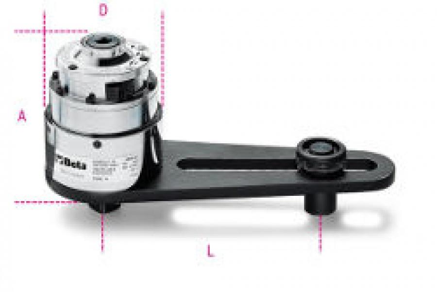 Moltiplicatore di coppia rapporto 25:1 con dispositivo antiritorno Beta 565/2r